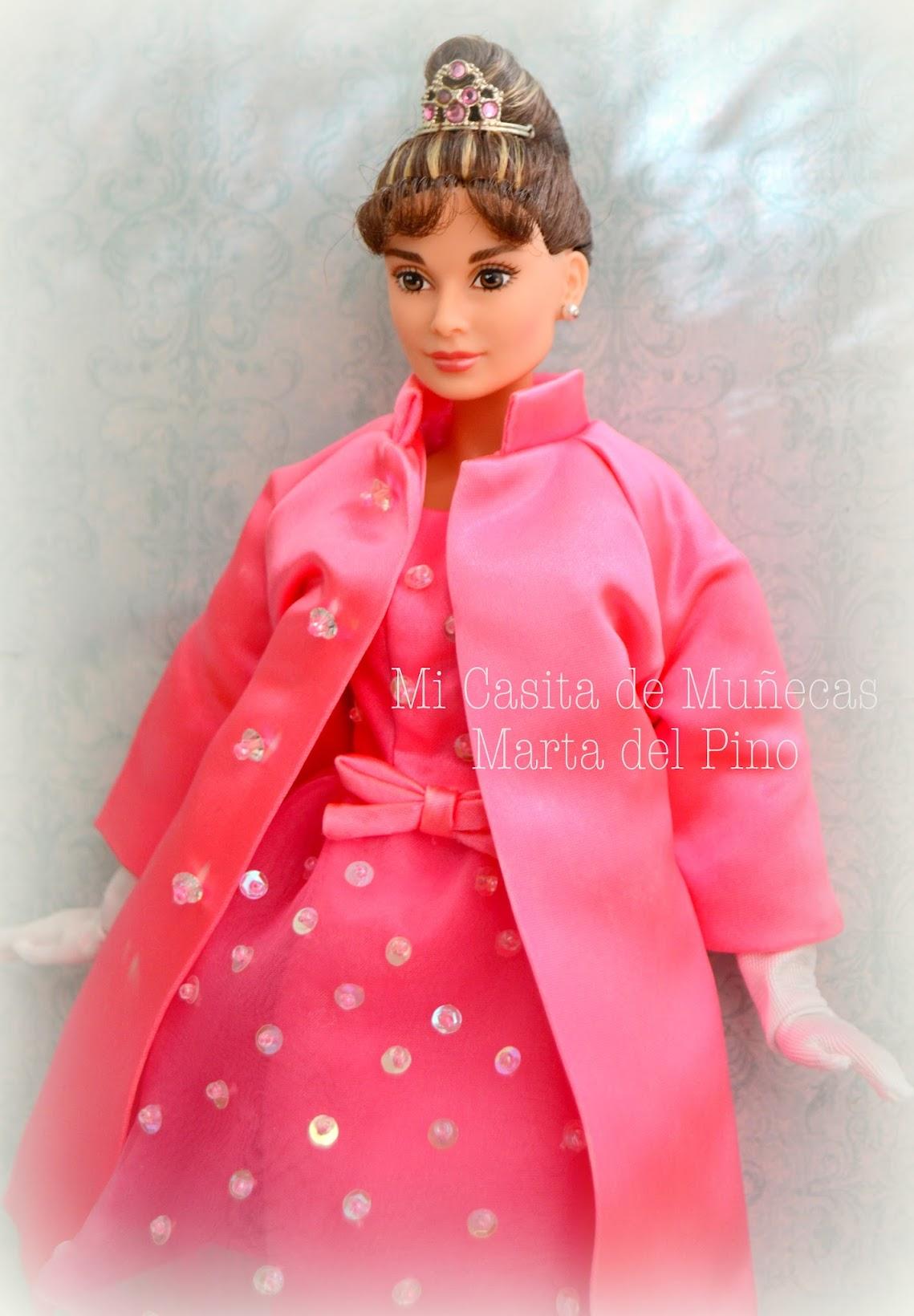 Barbie Look, Barbie y sus vestidos, Casa de muñecas, Mi Casita de Muñecas, Marta del Pino, Audrey Hepburn