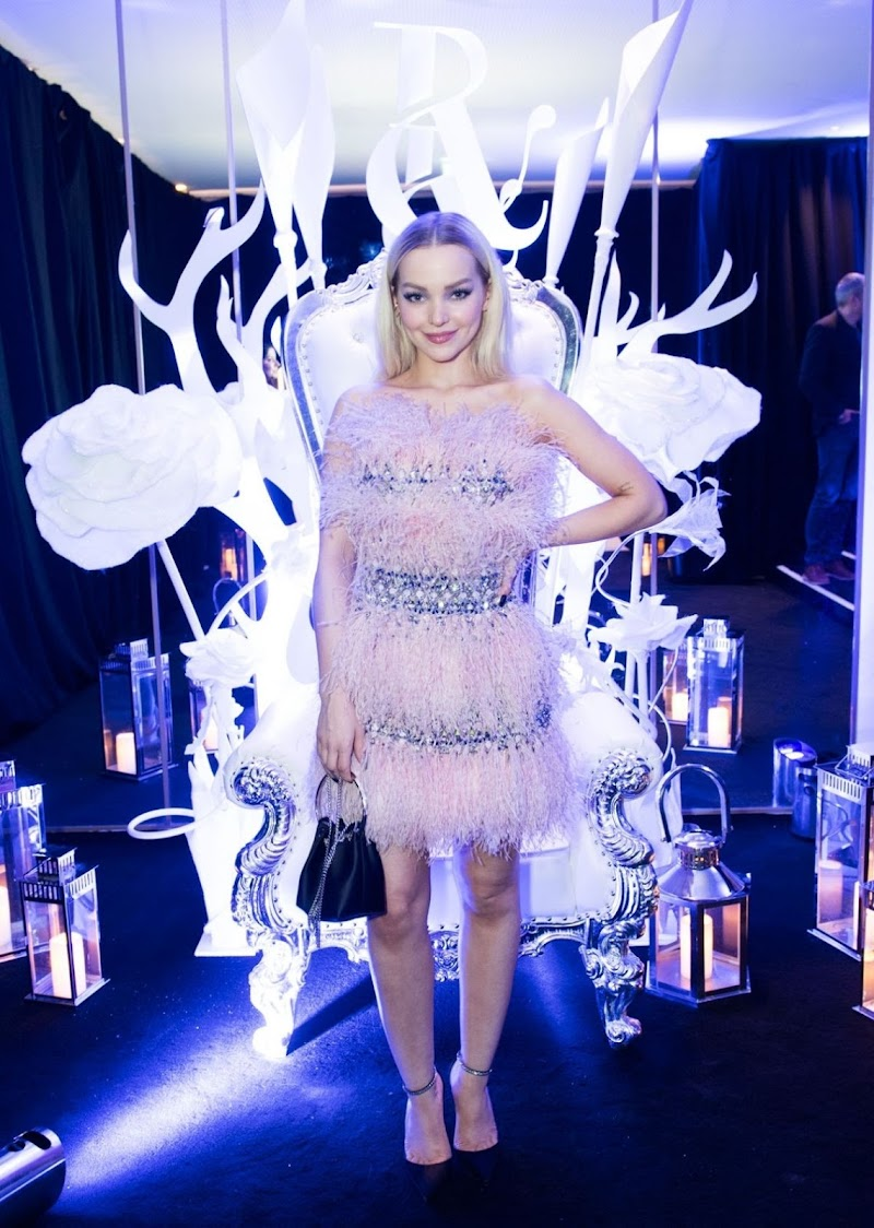 Dove Cameron clicks at Ralph & Russo Party in Paris 20 jan-2020