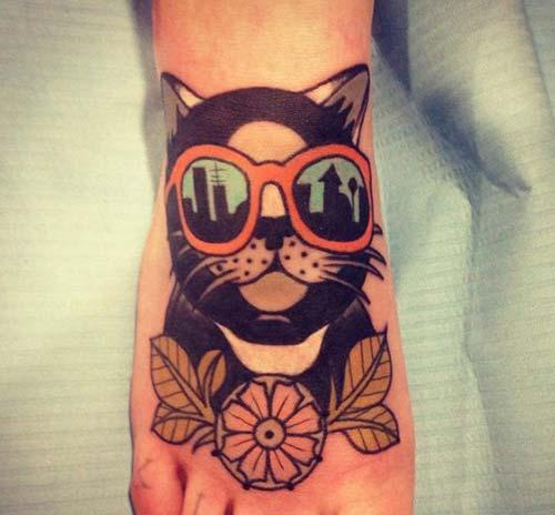 kedi dövmeleri cat tattoos 40
