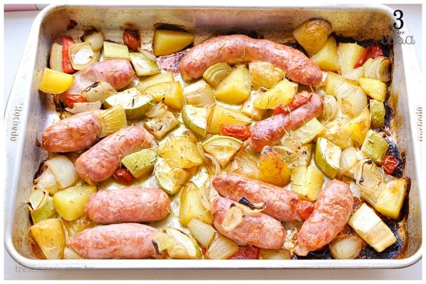 receita de linguiça toscana no forno