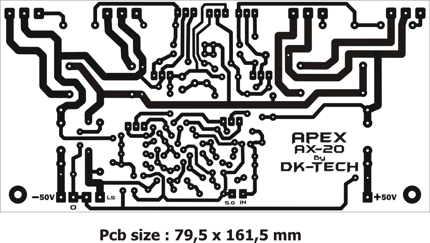 Dk Tech Pcb Audio Power Amplifier Power Amplifier