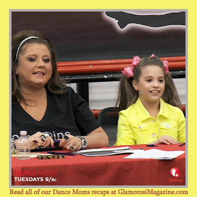 Abby Lee Miller and Mackenzie Ziegler on Dance Moms S4 E14