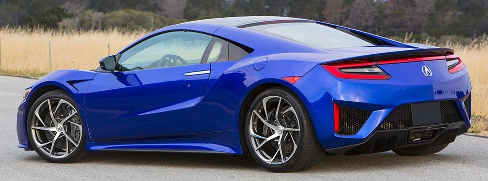 The New Acura Nsx Will Feature Weight Saving Construction Combined With A Hybrid Train That Has Three Electric Motors And Mid Mounted Twin Turbo V 6