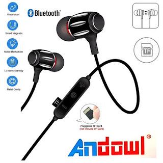 auricolari wireless bluetooth andowl qy-9016