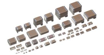 البلاديوم والفضة من المكثفات السيراميك