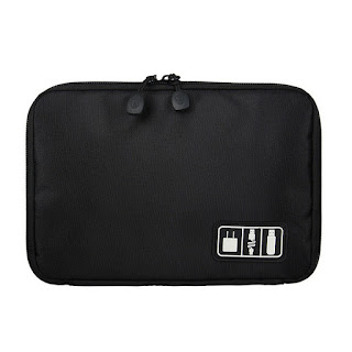 Viaggi impermeabile Custodia bagagli Borsa organizer per unità flash USB
