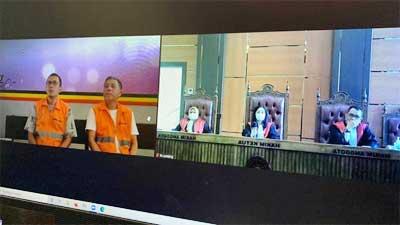 JPU menuntut maksimal terdakwa Delfi dan Eko empat tahun penjara