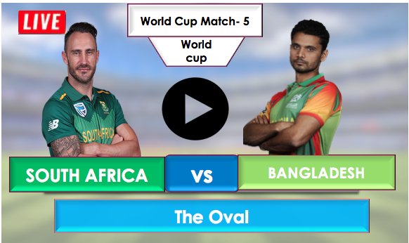 SouthAfrica vs Bangladesh, Live Streaming Online, Bangladesh is on fire