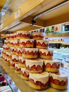 Strawberry Cheesecake, Cheesecake Cirebon, Kue Keju Cirebon, Cheese Cake Cirebon, Strawberry Cheese Cake