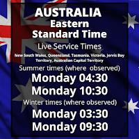 Australia Eastern Time