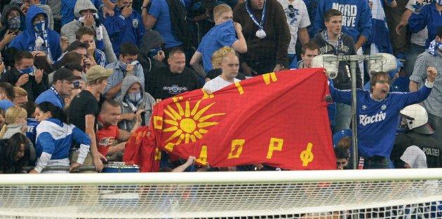 Schalke: Verein bittet griechische Fans nicht zu provozieren - Ordner sollen provozierende Fahnen nicht zulassen