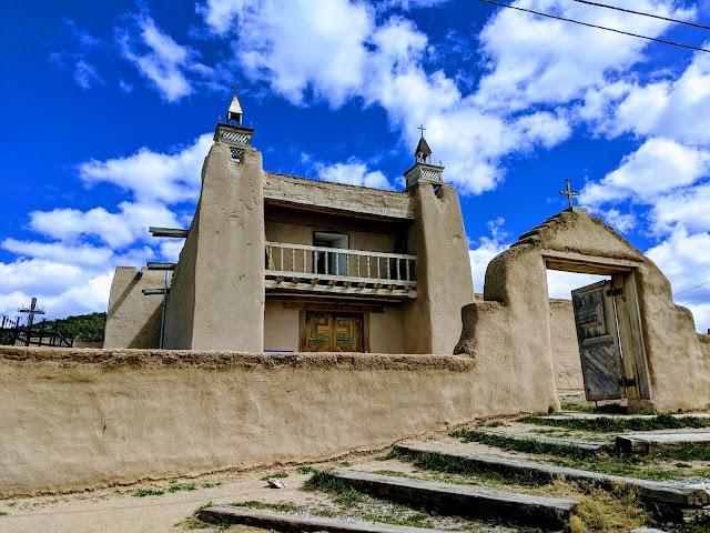 Сан Хосе де Грасіа. Лас Трампас. Нью-Мексико(San José de Gracia Church. Las Trampas, New Mexico)