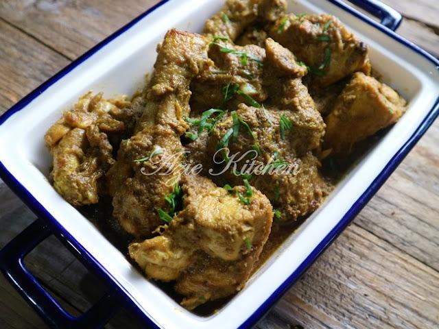 Rendang Cili Padi Ayam