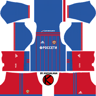 CSKA Moscow kits 2017/2018 - Dream League Soccer