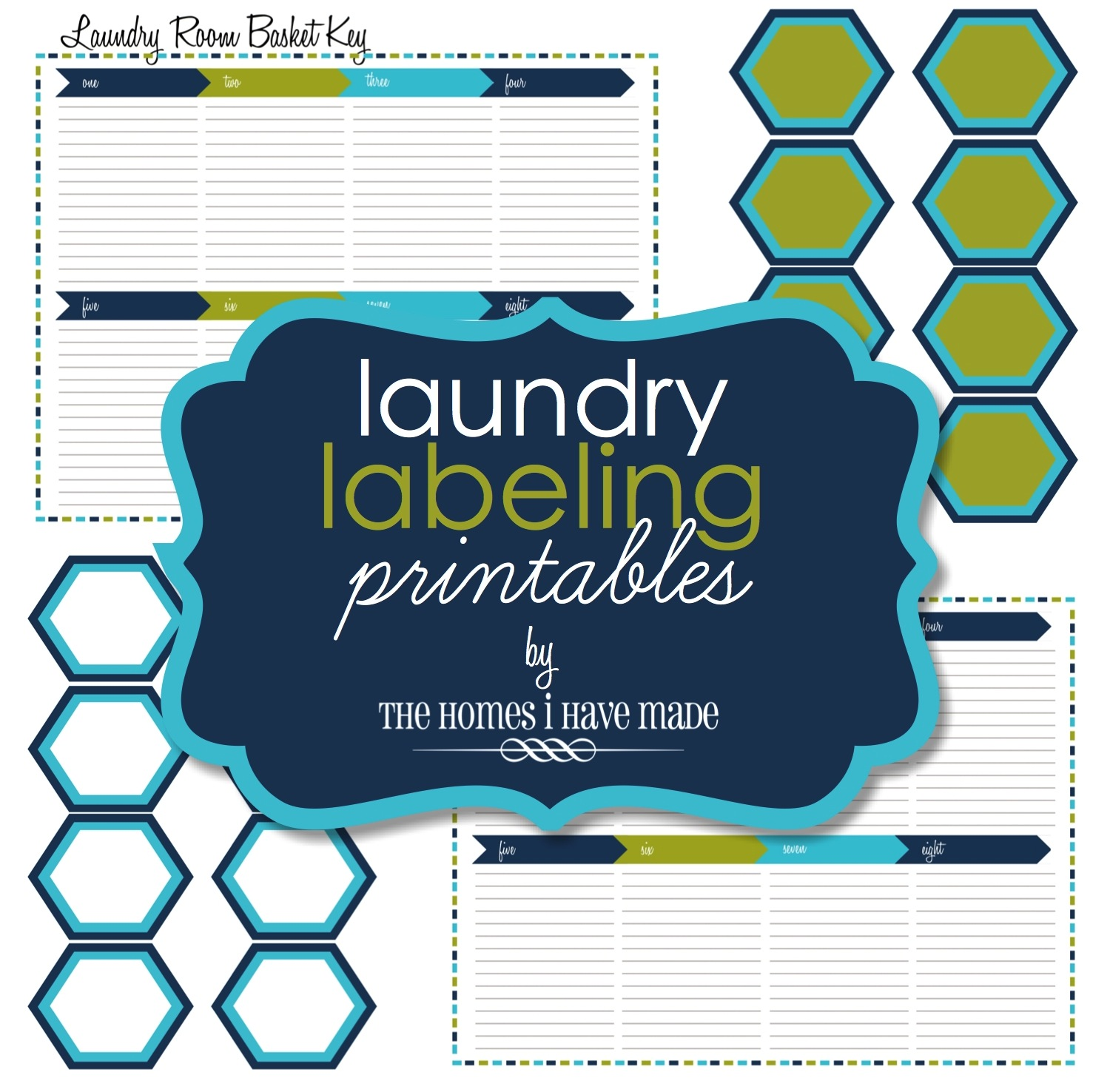 Laundry Labeling Printables