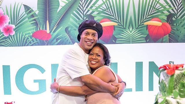 Morre mãe de Ronaldinho Gaúcho, devido à complicações da Covid-19