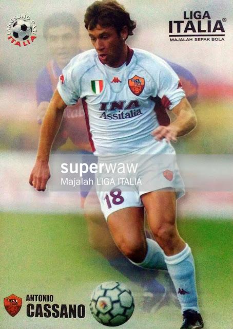 Antonio Cassano AS Roma