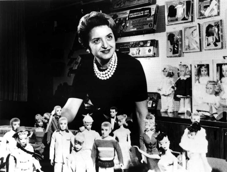 Creadora de la Barbie, Ruth Handler