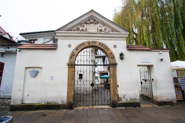Sinagoga e cimitero di Remuh-Kazimierz-Cracovia