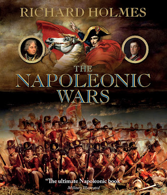 The Napoleonic Wars by Richard Holmes book cover