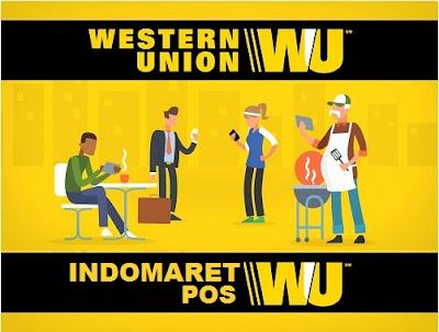 Cara Mengambil Uang Western Union di Indomaret & Kantor Pos