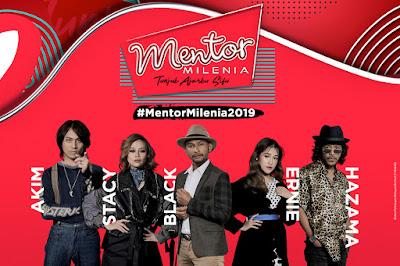 Jadual Ujibakat Mentor Milenia 2019
