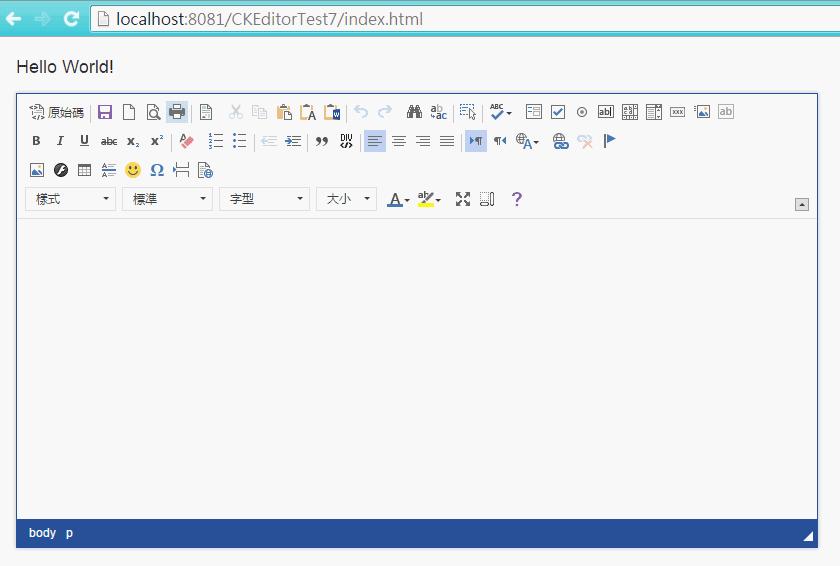 Java程式教學甘仔店: CKEditor + CKFinder 基本配置設定之二