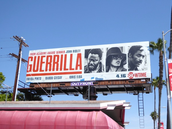 Guerrilla Showtime series billboard