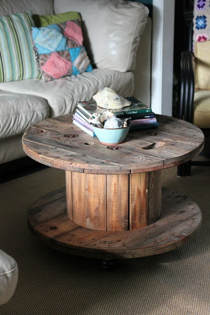 Things You Can Do With Recycled Cable Reels 3