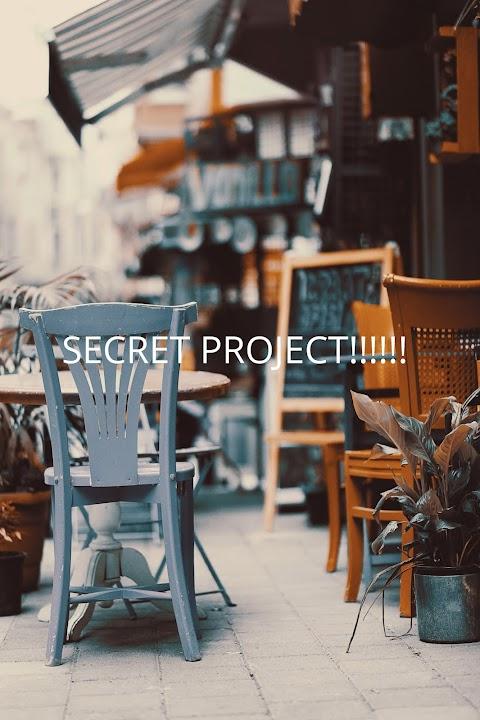 Secret Project *mysterious ghost noises??*