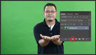 cara hapus green screen