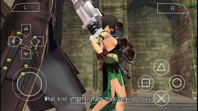 Preview Settingan Emulator ppsspp God Eater Burst