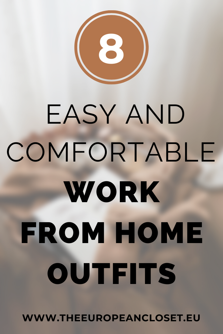 Since now a lot of people are working from home due to the COVID-19 outbreak, I thought this post would come in handy for those who never worked from home and are struggling to find things to wear other than pajamas. Here are 8 outfits you can wear when working from home.