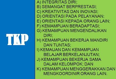 Tes Karakteristik Pribadi (TKP) CPNS 2017