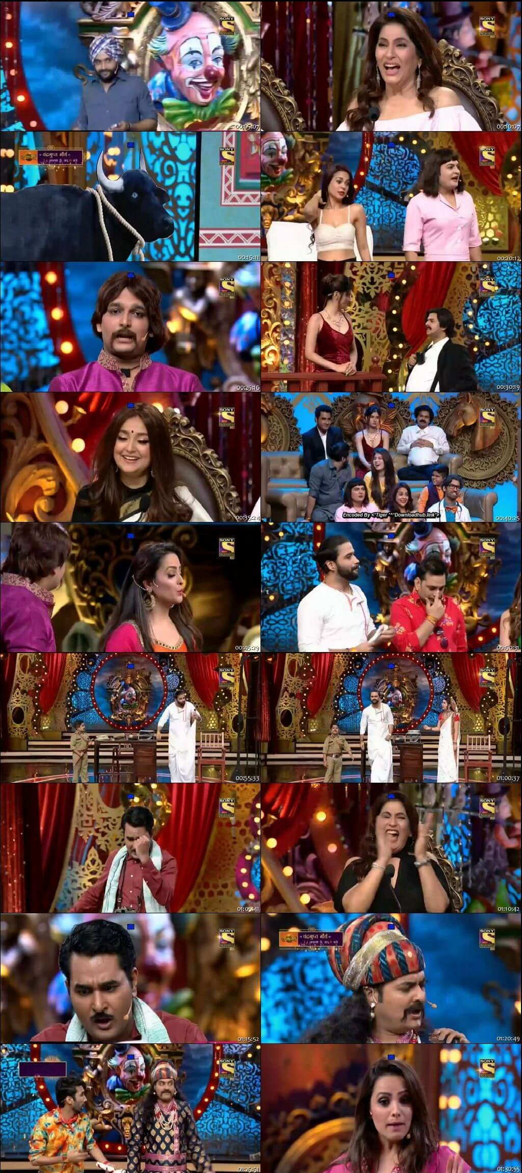 Screen Shot Of Comedy Circus 3rd November 2018 Episode 15 300MB Watch Online