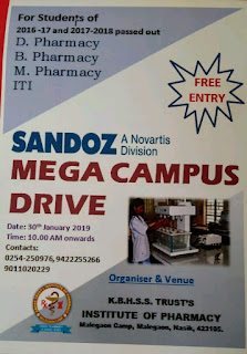 SANDOZ walk in