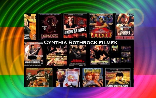 Cynthia Rothrock filmek, akciófilmek, lista, visszatérése