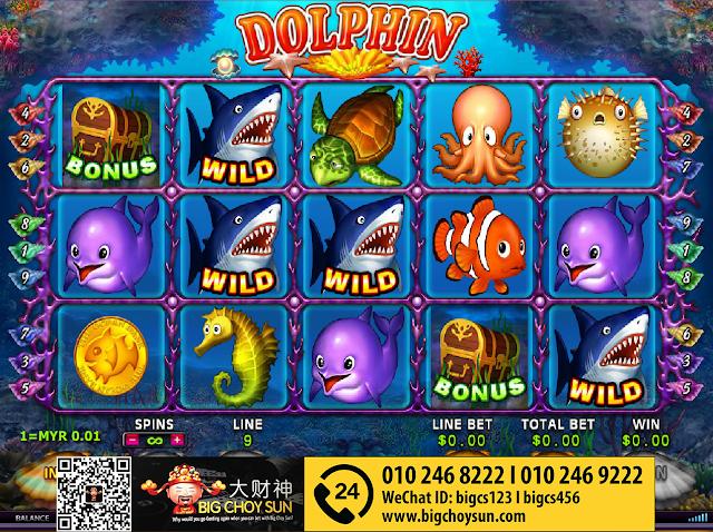 Clubsuncity Slot Dolphin