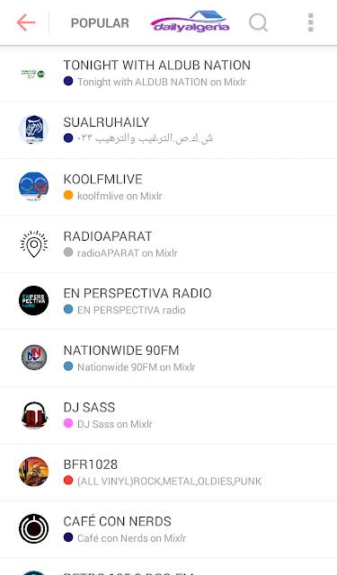 تحميل Mixlr - Social Live Audio 6