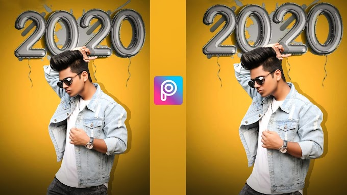 Happy New Year 2020 PicsArt Editing Background Download