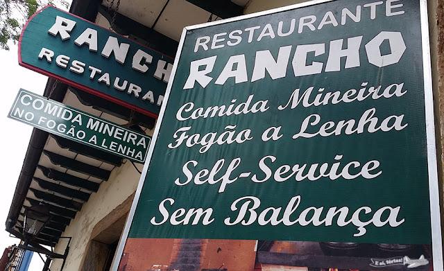 Restaurante Rancho, Praça Gomes Freire, Mariana, Minas Gerais