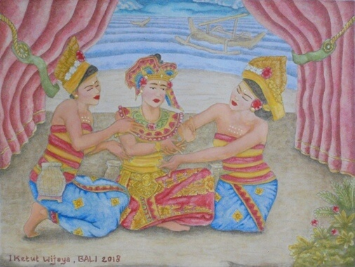Tari Nelayan Bali, Nelayan Dance Bali, Fisherman Dance Bali