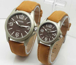 jam tangan couple fossil