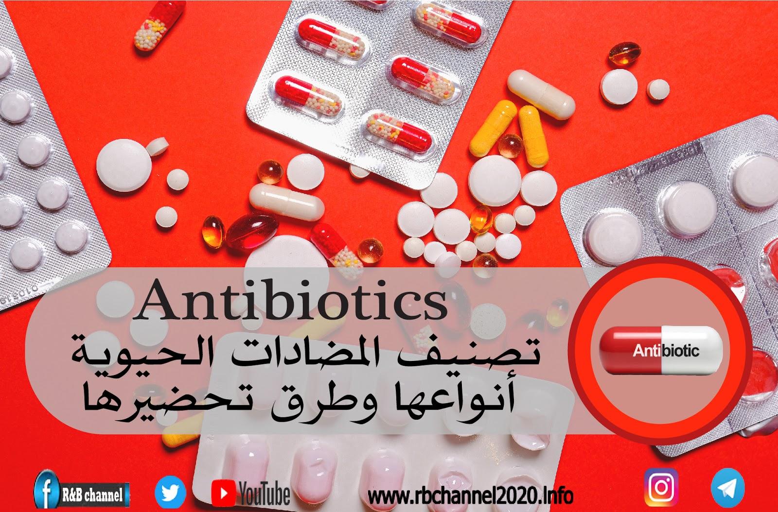 استخدام المضادات الحيوية اثناء الحمل المرسال