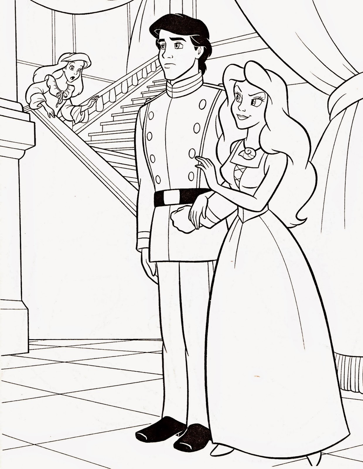 Fun Amp Learn Free Worksheets For Kid Prince Coloring Pages