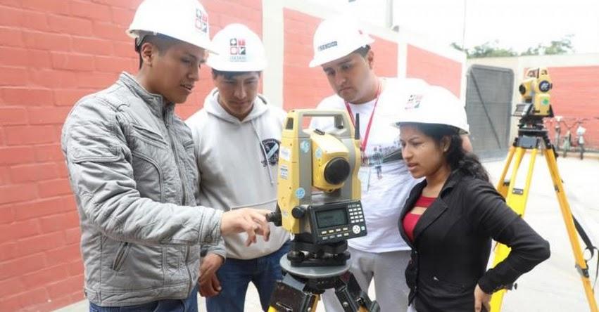 SENCICO 2020-II: Convocan a Examen de Admisión virtual para carreras relacionadas a la construcción