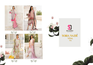 Shraddha designer Sobia Nazir Vital nx pakistani Suits