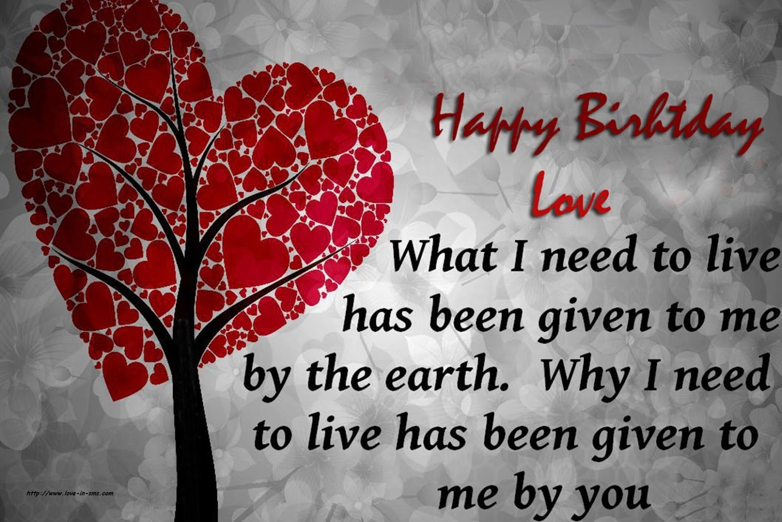 Happy birthday wishes to my love romantic birthday wishes for lover kristyandbryce Image collections