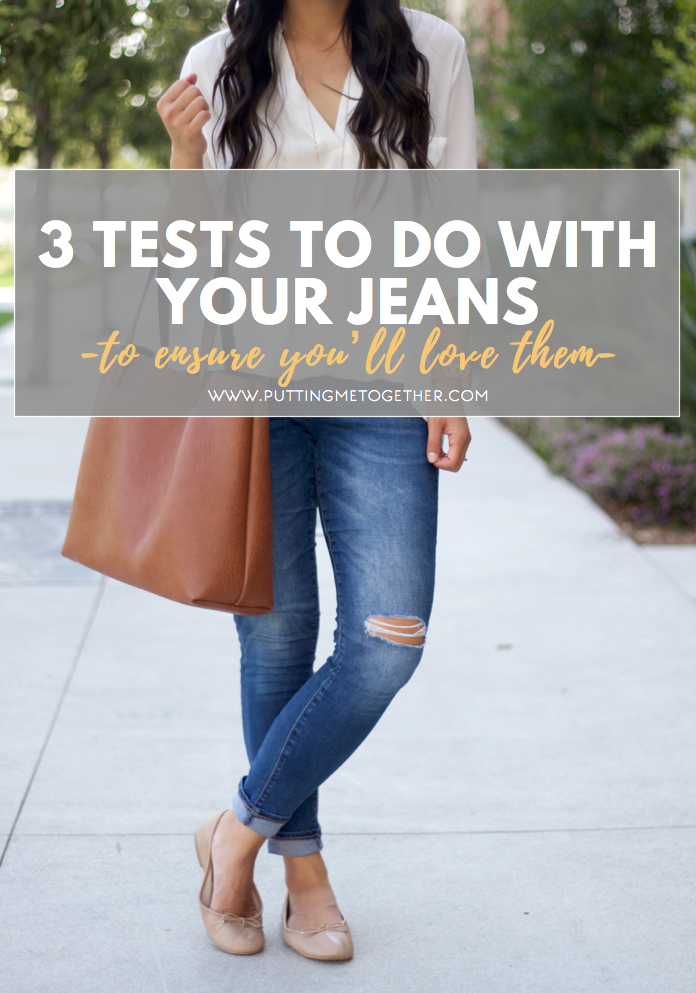 3 Ways You Should Always Test Your Jeans