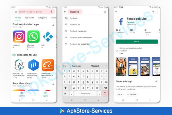 كيفية البحث وتحميل لعبة أو تطبيق من متجر بلاي ستور Play Store